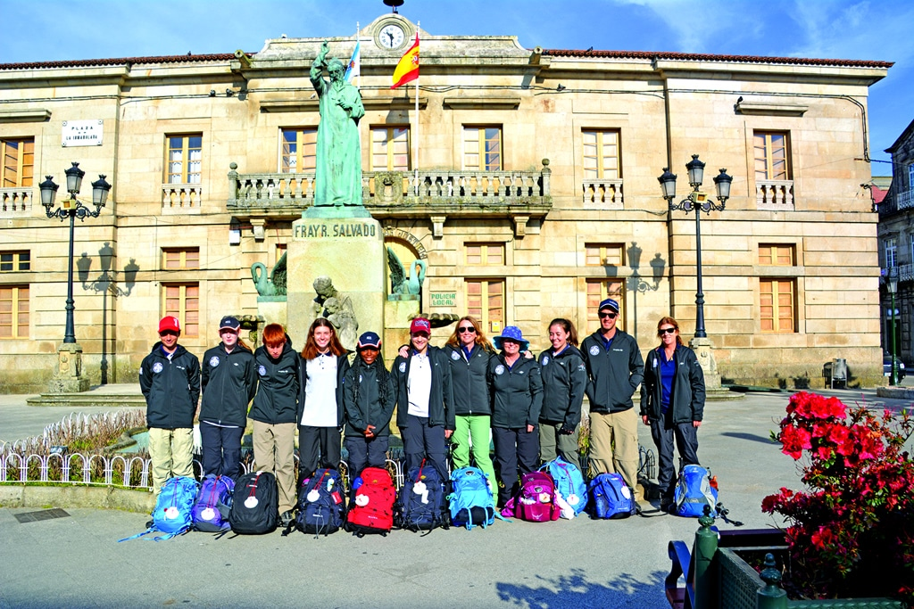 Holy Cross College Camino Europe