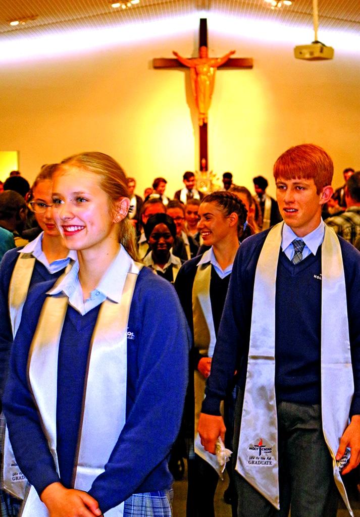Holy Cross College Year 12 Graduates